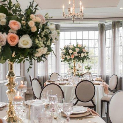 Estates of Sunnybrook featured in Xia and Weiqi's Super Intimate Wedding at the Elegant Estates…