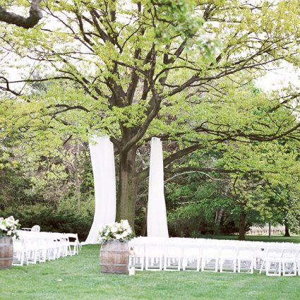 As You Wish Weddings featured in Alessandra and Gianluca's Beautiful Outdoor Wedding at Kurtz …