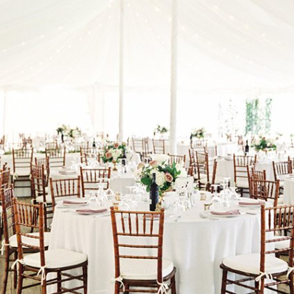 Bloom & Co. featured in Alessandra and Gianluca's Beautiful Outdoor Wedding at Kurtz …