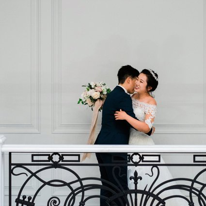 Beyond Dynamic Event Productions featured in Emma and Xi's Intimate Affair at a Beautiful Private Residenc…
