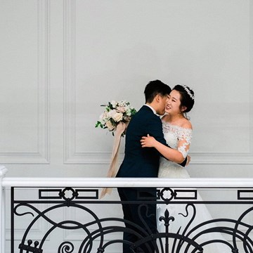 Emma and Xi's Intimate Affair at a Beautiful Private Residence on Toronto's Bridle Path