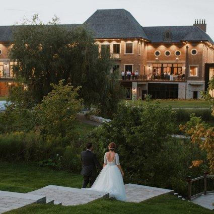 The Arlington Estate featured in Yuliya and Rudik's Classic Wedding at the Arlington Estate