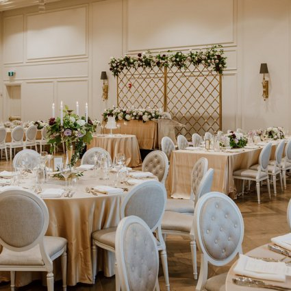 Swoon Events featured in Yuliya and Rudik's Classic Wedding at the Arlington Estate