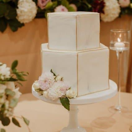 Mademoiselle Vanilla featured in Yuliya and Rudik's Classic Wedding at the Arlington Estate