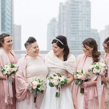 Sophia and George's Elegant Wedding at One King West