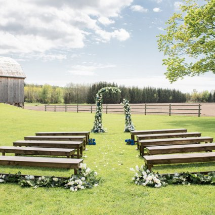 Michaela Elizabeth Creative featured in Styled Shoot: Country Chic Wedding Inspiration at The Barn 1906