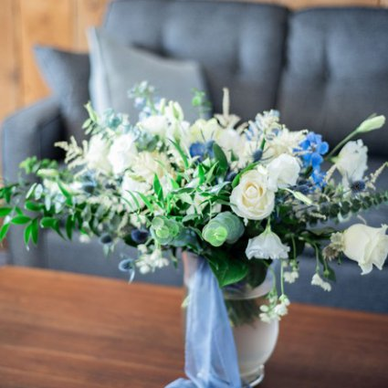 Country Lane Vintage Rentals featured in Styled Shoot: Country Chic Wedding Inspiration at The Barn 1906
