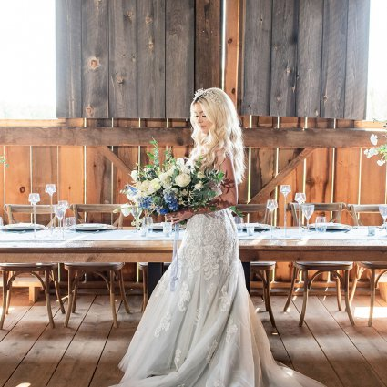 Cakeity Cakes featured in Styled Shoot: Country Chic Wedding Inspiration at The Barn 1906
