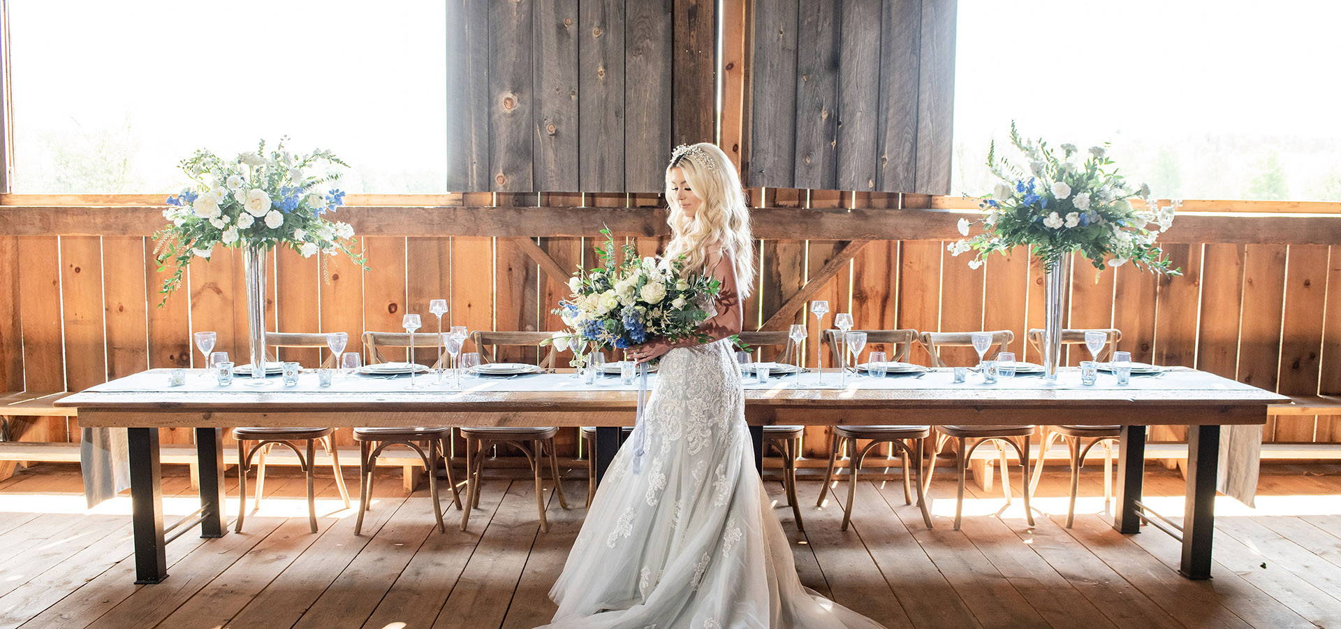 Hero image for Styled Shoot: Country Chic Wedding Inspiration at The Barn 1906