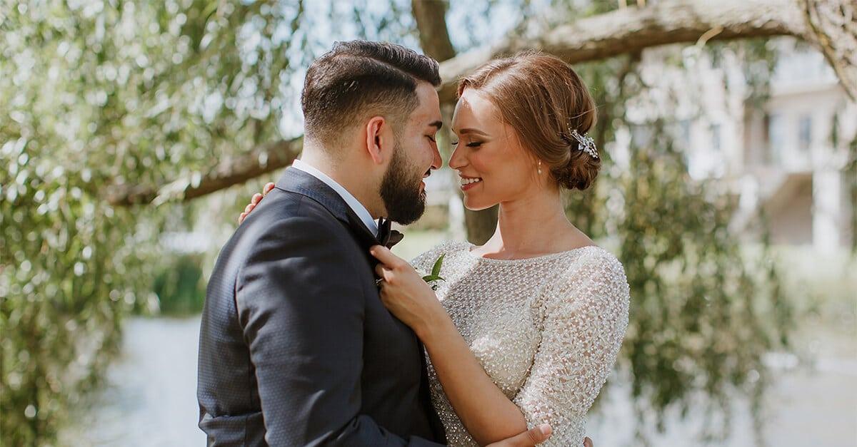 Hero image for Yuliya and Rudik's Classic Wedding at the Arlington Estate