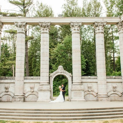 The Guild Inn Estate featured in Sarah Beth and Andrew's Summer Wedding at the Guild Inn Estate