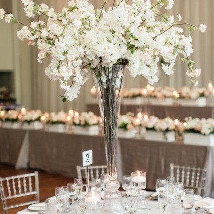 Rachel A. Clingen Wedding & Event Design featured in Sarah Beth and Andrew's Summer Wedding at the Guild Inn Estate
