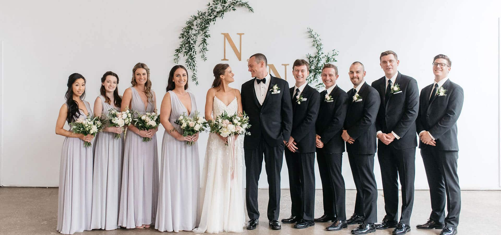 Hero image for Nerissa and Neil's Urban Downtown Wedding at Airship37