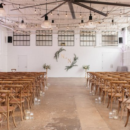 Simply Perfect featured in Nerissa and Neil's Urban Downtown Wedding at Airship37
