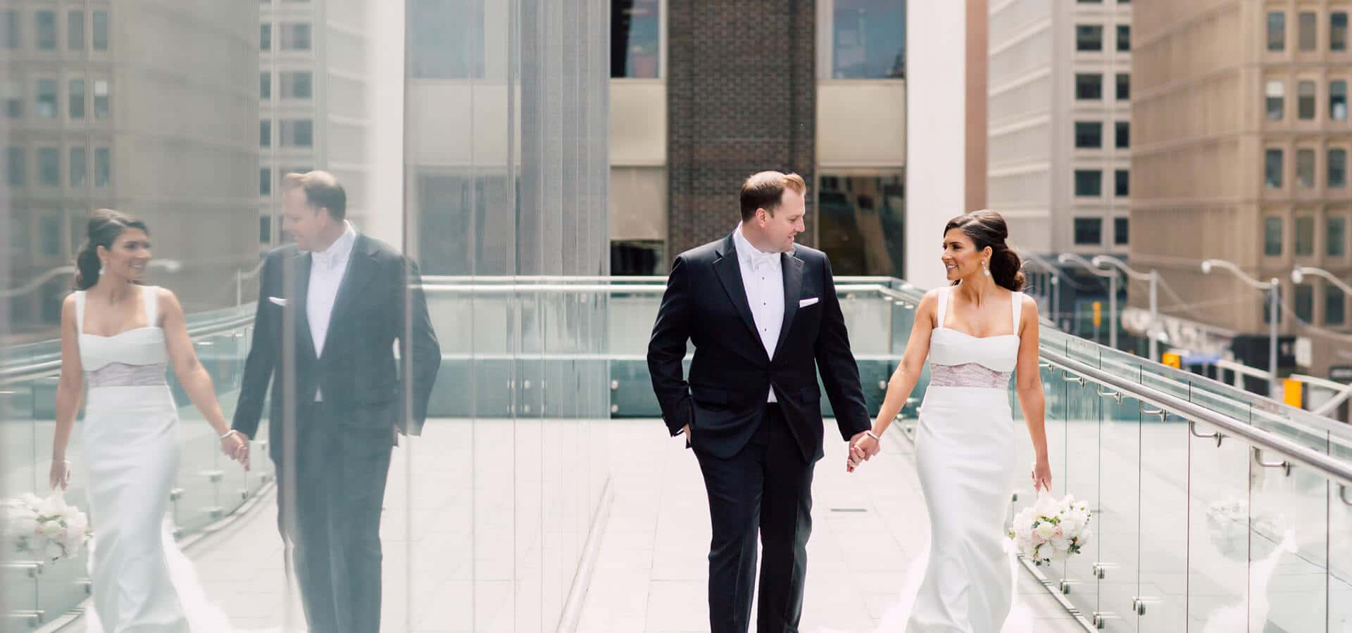 Hero image for Shibayle and Chris' Charmingly Elegant Wedding at the Four Seasons