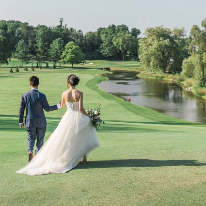 Thumbnail for Kimberly and Jonathan's Magical Wedding at the Bayview Golf a…