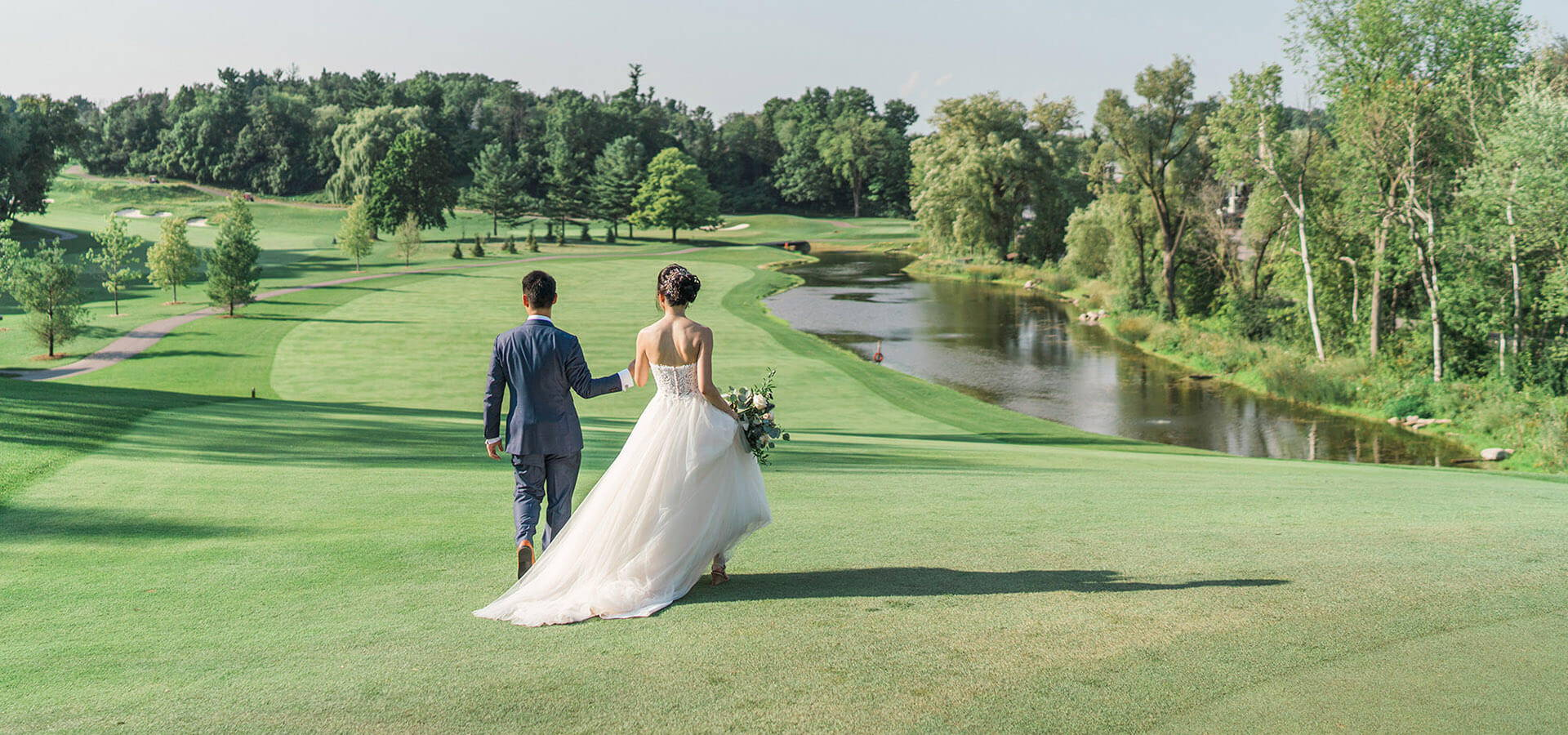 Hero image for Kimberly and Jonathan's Magical Wedding at the Bayview Golf and Country Club