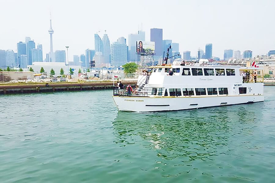 9 toronto cruise lines capable of hosting your epic summer event, 17