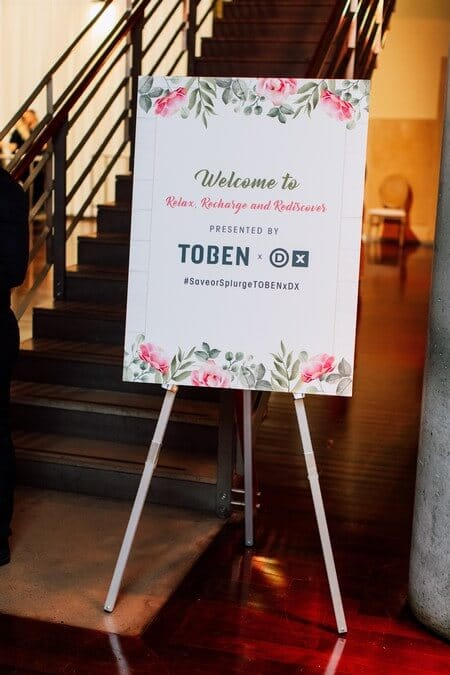 toben food by designs presents the save or splurge event at the design exchange, 1