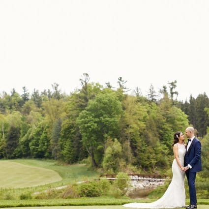 St. Kitts Music featured in Stefanie and Mark's Elegant Wedding at Copper Creek