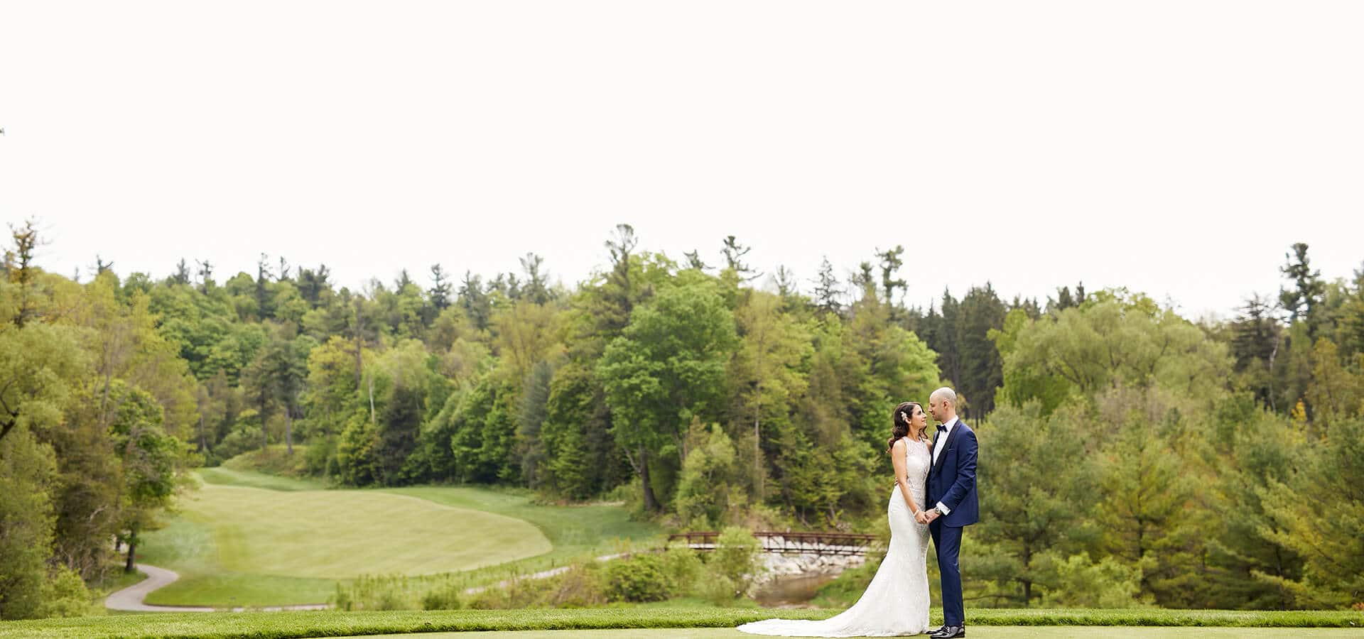 Hero image for Stefanie and Mark's Elegant Wedding at Copper Creek