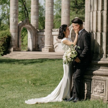The Guild Inn Estate featured in Ruby and Yang's Classically Elegant Wedding at the Guild Inn