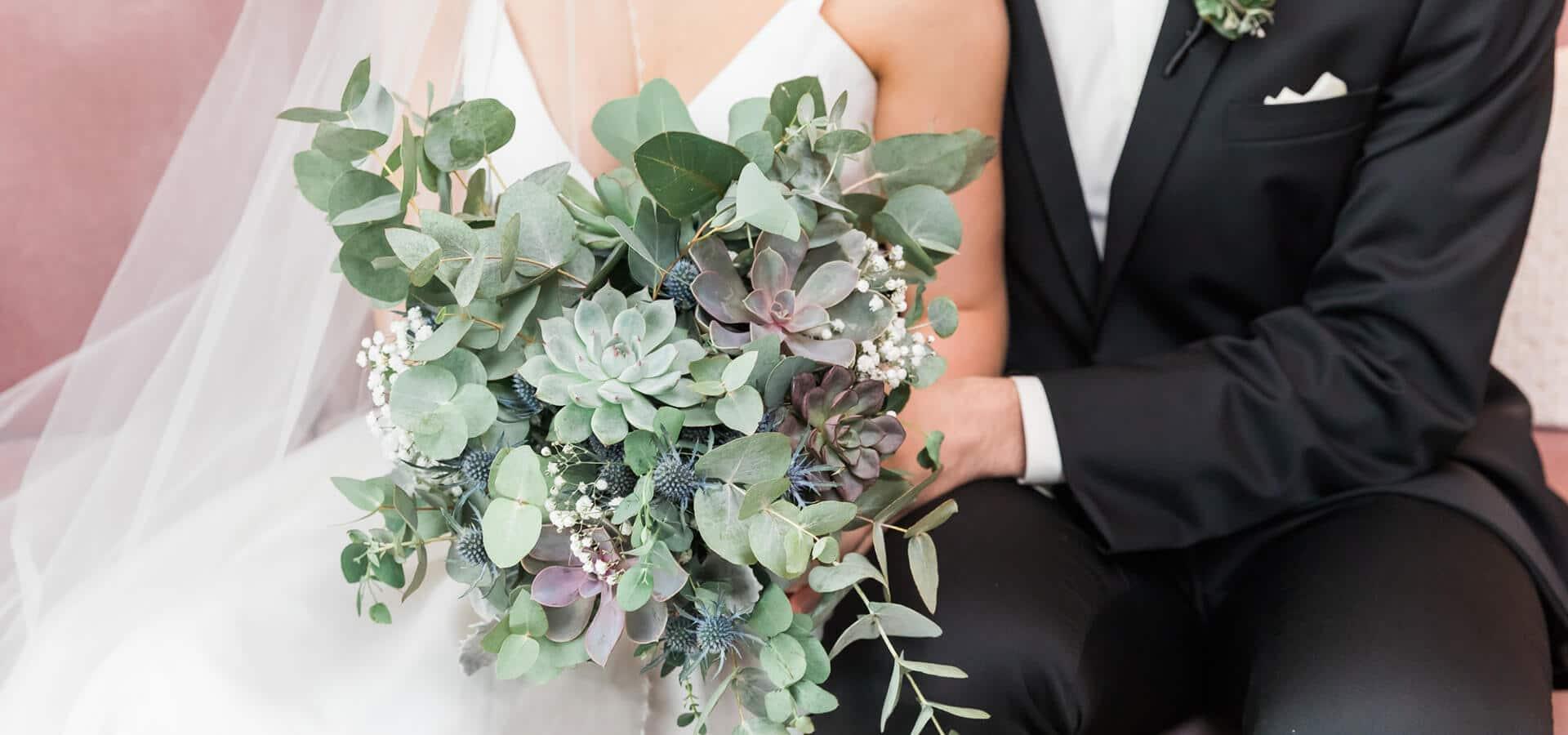 Hero image for Alexandra and Anthony's Timelessly Elegant Four Season's Hotel Wedding