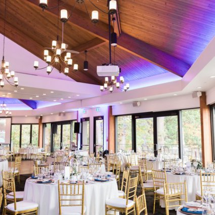 Coquette Studio Floral Design featured in Caitlin and Steven's Fall Wedding at Credit Valley Golf Course
