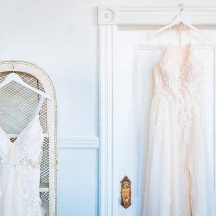 Catherine Langlois Bridal Design Studio featured in A Crazy Rich Asians Inspired Style Shoot at The Great Hall