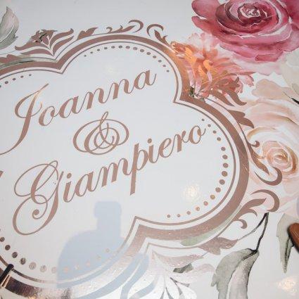 Dance Floor Decor featured in Joanna and Giampiero's Elegant Wedding at The Royalton