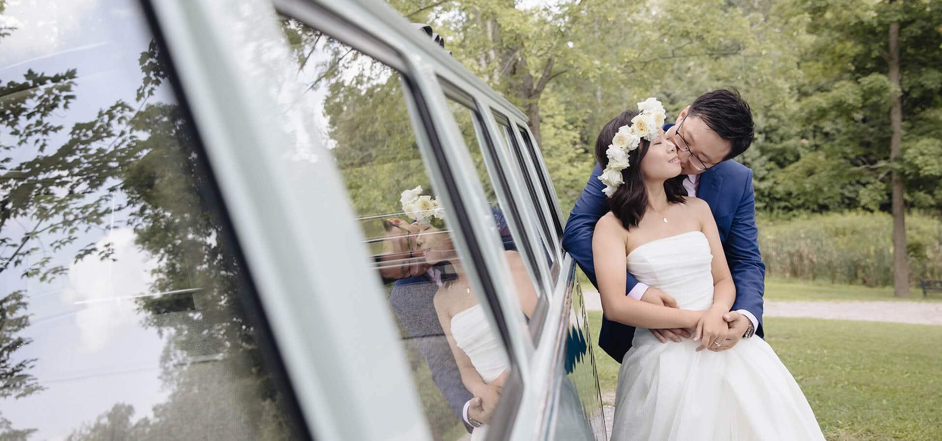 Hero image for Xintong and Bowen's Wedding at Cadogan Farm Estate