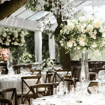 Meagan and Matthew's Lush, Garden-Inspired Wedding at Graydon Hall Manor