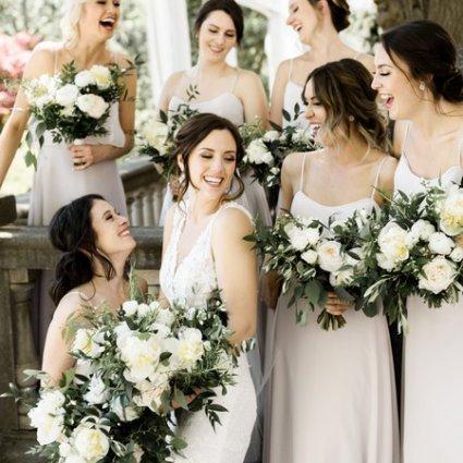 Flower 597 featured in Meagan and Matthew's Lush, Garden-Inspired Wedding at Graydon…