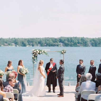 The Event Design Co. featured in Courtney and Lucas' Gorgeous Farm Wedding at Northbrook Farm