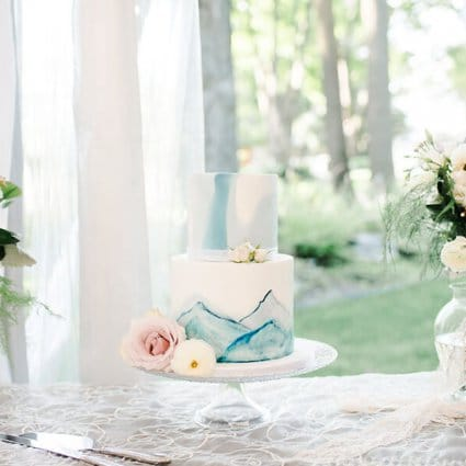 Baking Up Treble featured in Courtney and Lucas' Gorgeous Farm Wedding at Northbrook Farm