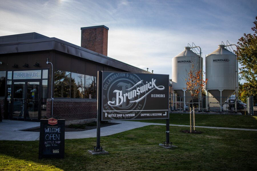 industry night at the new and exciting brunswick bierworks, 1