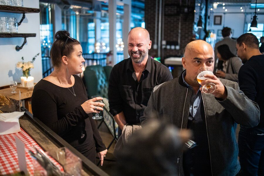 industry night at the new and exciting brunswick bierworks, 23