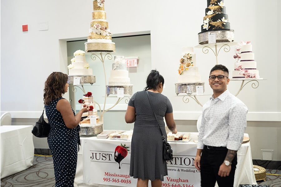 a fall wedding fair open house at the mississauga convention centre, 14