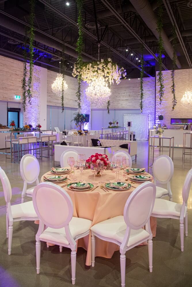 a stunning wedding open house at w event boutique, 20