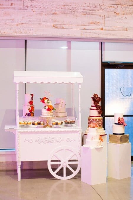 a stunning wedding open house at w event boutique, 25