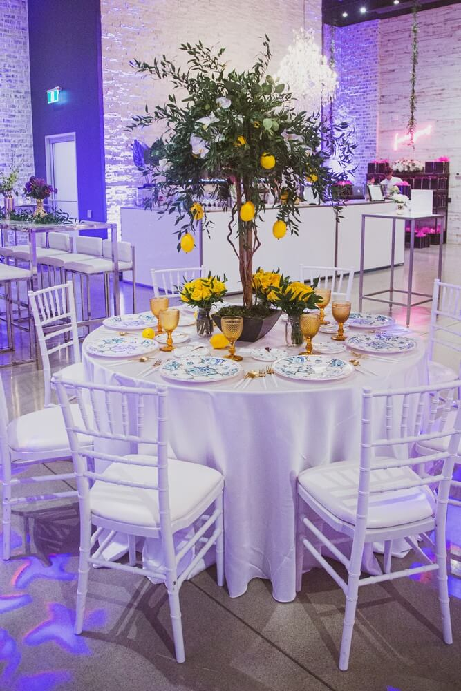 a stunning wedding open house at w event boutique, 17