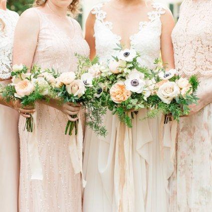 Stôk Floral & Design Inc. featured in Sarah and Gideon's Romantic La Maquette Wedding