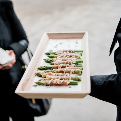 Drake Catering featured in Love by Lynzie Presents: The Largest Pop Up Wedding Chapel To…