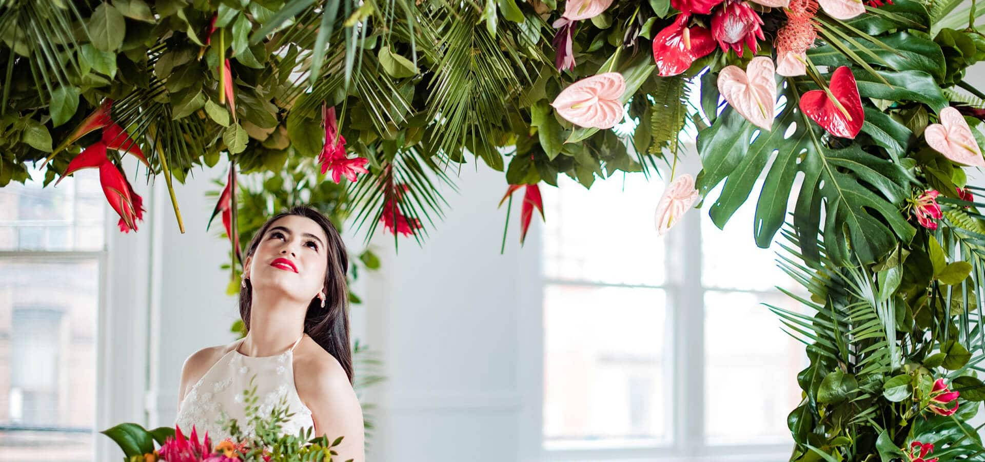 Hero image for A Crazy Rich Asians Inspired Style Shoot at The Great Hall