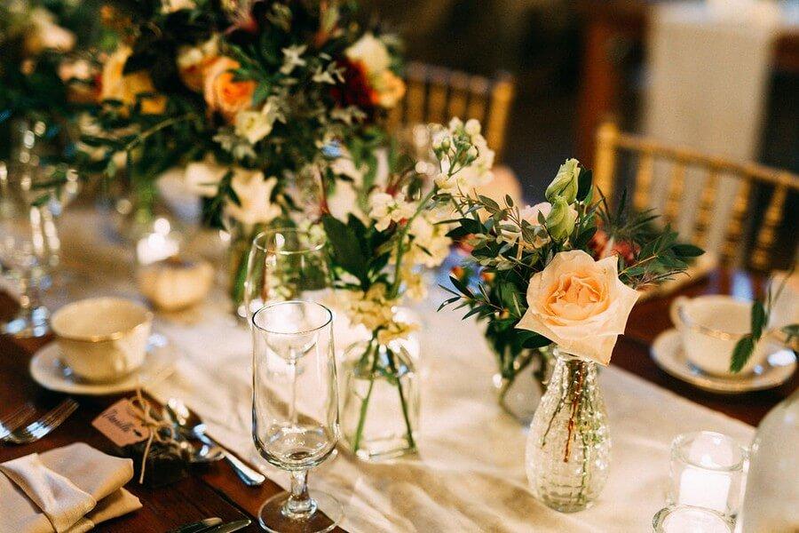 Romantic Fall Wedding