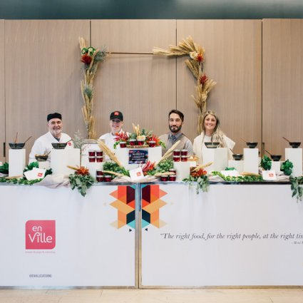en Ville Event Design and Catering featured in EventSource.ca Presents the 2019 Toronto Catering Showcase
