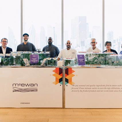 McEwan Catering featured in EventSource.ca Presents the 2019 Toronto Catering Showcase