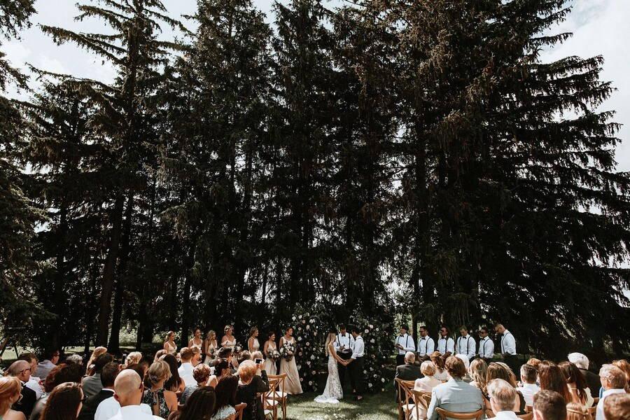 Wedding at Cambium Farms, Caledon, Ontario, Bows & Lavender, 17