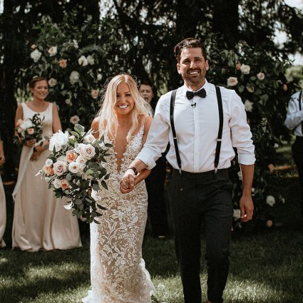 Thumbnail for Sarah and Andrew's Country Chic Wedding at Cambium Farms