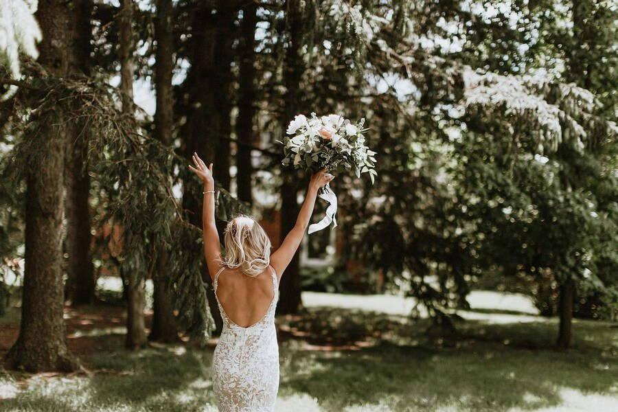 Wedding at Cambium Farms, Caledon, Ontario, Bows & Lavender, 6